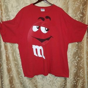 3X officially licensed M&Ms T shirt